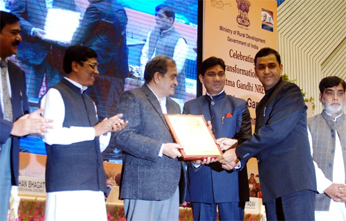 Udaipur Collector honored in New Delhi