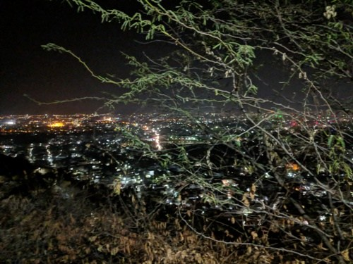 [Photos] Udaipur skyline and Fatehsagar in winters – Views from Neemuch Mata