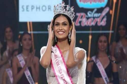 Rajsamand (Udaipur) girl bags Femina Miss India crown