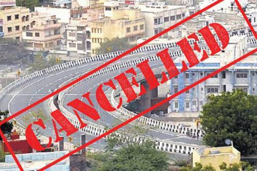 Elevtated Road project has been cancelled | NHAI repeals tender