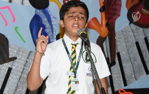 Elangza – Udaipur Interschool performing arts competition concludes at Seedling