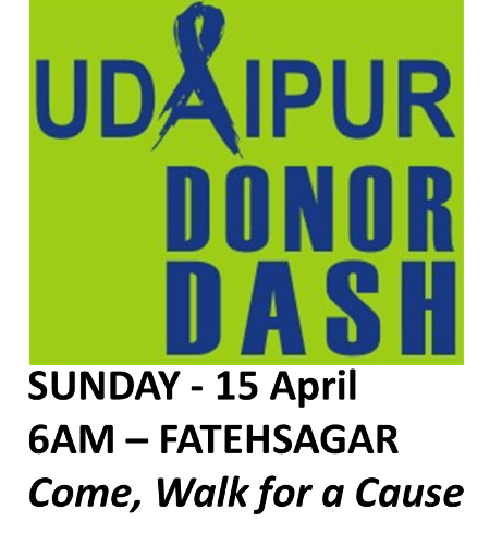 Udaipur Donor Dash – an initiative to spread awareness on Organ Donation