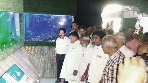 Fateh Sagar fish aquarium inaugurated