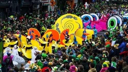 'Green light' for St Patrick's celebrations around the world!