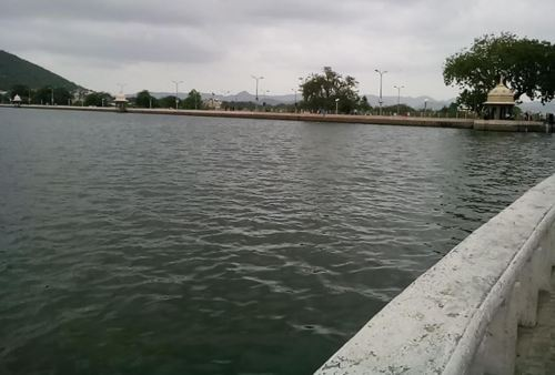 Fateh Sagar nearing the 10ft mark | Check the progress of water in lakes of Udaipur