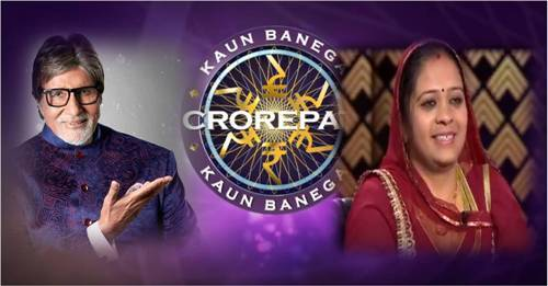Udaipur lady on Kaun Banega Crorepati today! Closed Day 1 successfully yesterday with a Rs 2,000 question