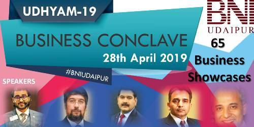 UDHYAM 19 | Over 60 business showstoppers | 5 Business Leader Sessions – Preparations on the Roll