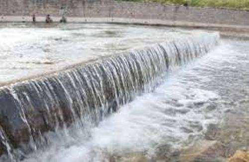 Akodara dam is close to being full