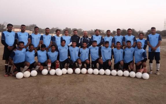 Camp begins for the Final-40 at Hindustan Zinc Football Academy