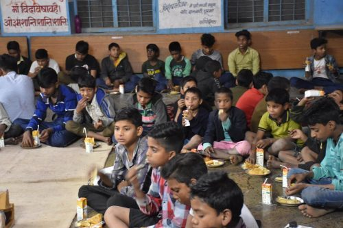 For the greater good: IIM Udaipur students bring smile to orphans