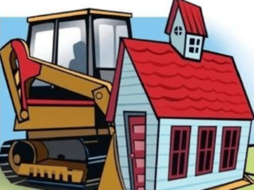Encroachments demolished by Municipal Corporation