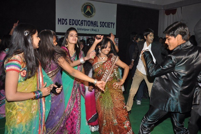 Farewell party for Seniors in MDS School