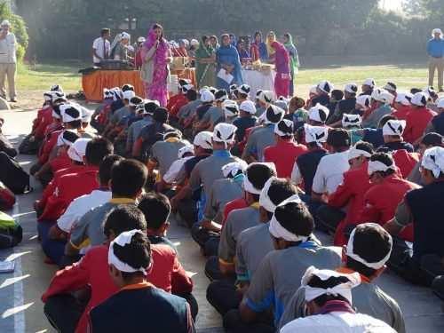 Guru Nanak jayanti celebrated at CPS