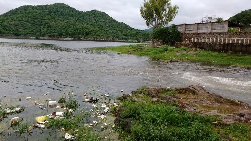 Sisarma at 2 ft | Water level starts rising in Pichola