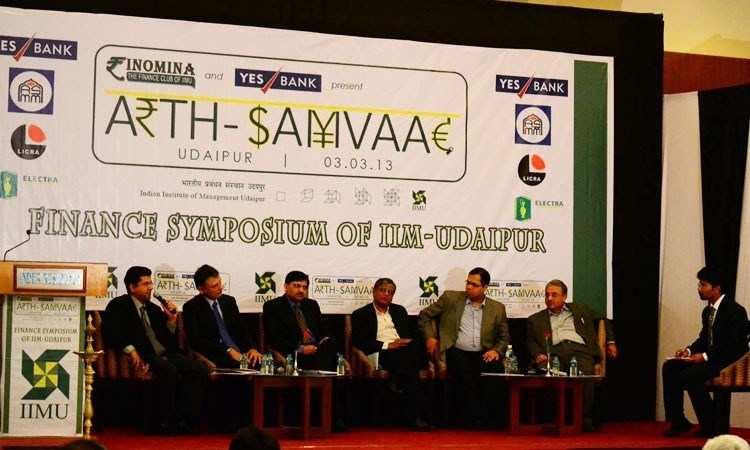 Arth Samvaad: Finance Symposium of IIM U Concludes