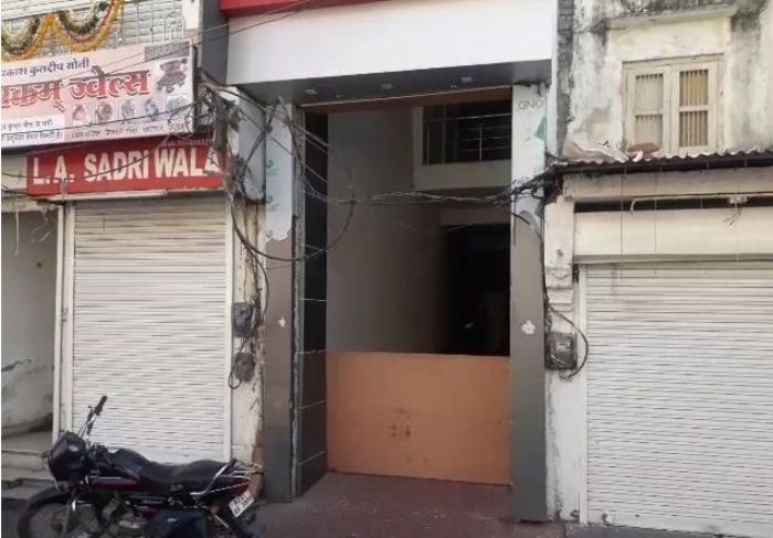 46 commercial units in three storey building seized at Ghantaghar