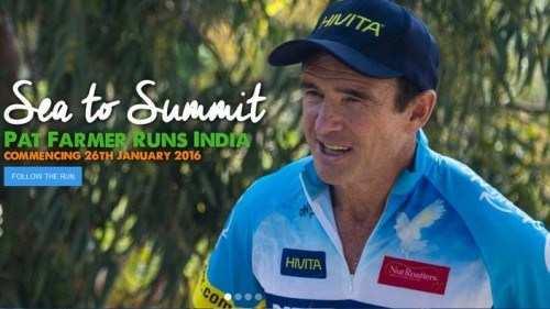 Former Australia MP runs through Udaipur
