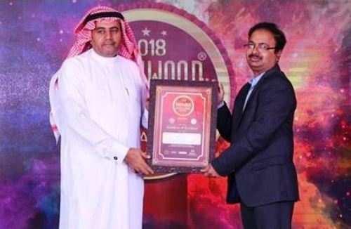 हिन्दुस्तान जिंक इंडीवुड इण्डिया एक्सीलेन्स अवार्ड से सम्मानित
