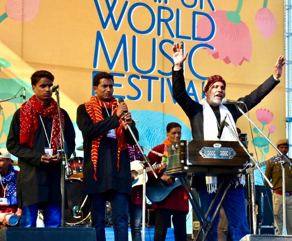 Central Jail inmates perform at Udaipur World Music Festival 2020 - Rehabilitation has a new avatar